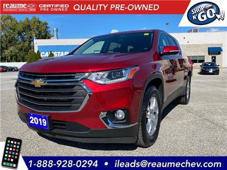 2019 Chevrolet Traverse LT (Stk: 20-0292A) in LaSalle - Image 1 of 22