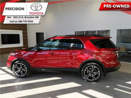 2015 Ford Explorer Sport (Stk: 201621) in Brandon - Image 1 of 29