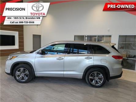2018 Toyota Highlander Limited AWD (Stk: 203161) in Brandon - Image 1 of 28