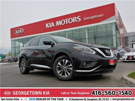 2018 Nissan Murano SV| AWD| NAVI | BU CAM| ROOF| HTD SEATS & STEERING (Stk: DR691) in Georgetown - Image 1 of 38