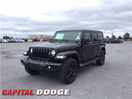 2021 Jeep Wrangler Unlimited Sahara (Stk: M00030) in Kanata - Image 1 of 21