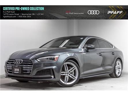 2018 Audi A5 2.0T Progressiv (Stk: 53710) in Newmarket - Image 1 of 22