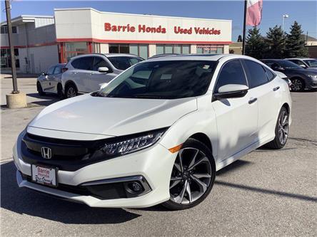 2019 Honda Civic Touring (Stk: U19155) in Barrie - Image 1 of 27