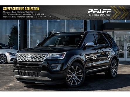 2017 Ford Explorer Platinum (Stk: K4155) in Kitchener - Image 1 of 22