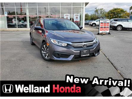 2018 Honda Civic EX (Stk: U20380) in Welland - Image 1 of 10