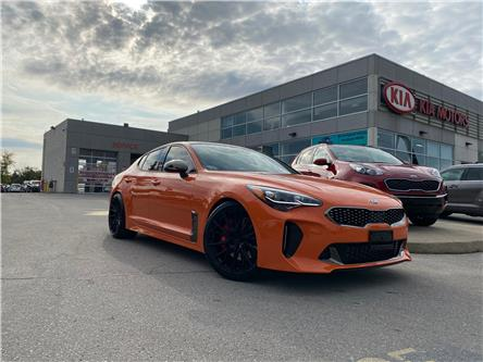 2021 Kia Stinger GT Limited - Neon Orange (Stk: ST21000) in Hamilton - Image 1 of 24