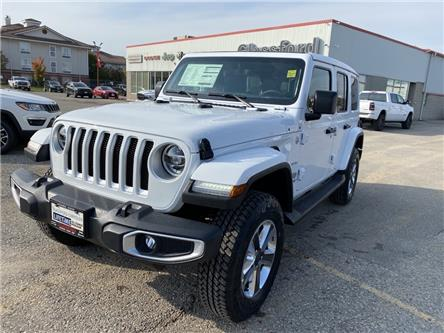 2021 Jeep Wrangler Unlimited Sahara (Stk: 21-025) in Ingersoll - Image 1 of 20