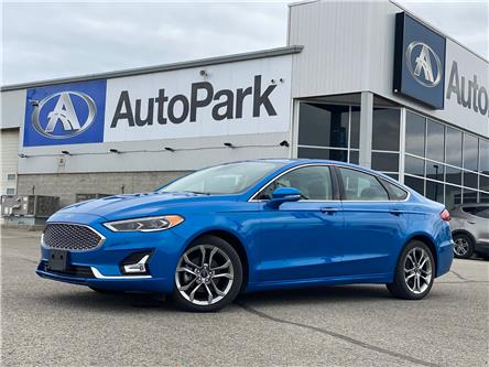 2020 Ford Fusion Hybrid Titanium (Stk: 20-00085RJBA) in Barrie - Image 1 of 29