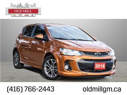 2018 Chevrolet Sonic LT Auto (Stk: 116476UA) in Toronto - Image 1 of 23