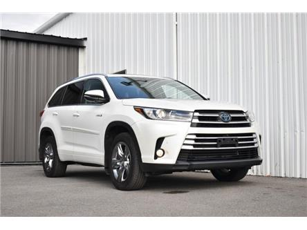 2018 Toyota Highlander Hybrid Limited (Stk: UCP2107) in Kingston - Image 1 of 30