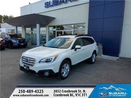 2017 Subaru Outback 2.5i (Stk: SC0074) in Cranbrook - Image 1 of 21