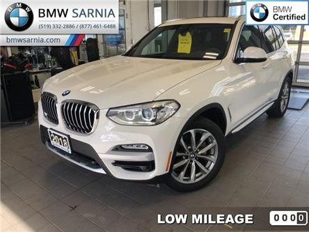 2018 BMW X3 xDrive30i (Stk: XU319) in Sarnia - Image 1 of 20
