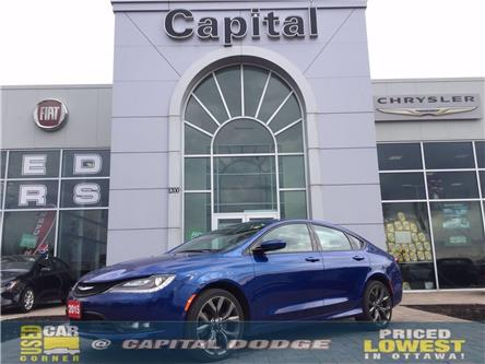 2015 Chrysler 200 S (Stk: L00659A) in Kanata - Image 1 of 24