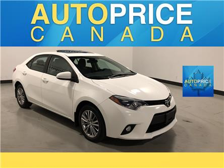 2014 Toyota Corolla LE (Stk: RR1) in Mississauga - Image 1 of 26