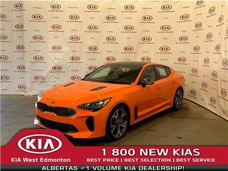 2021 Kia Stinger GT Limited - Neon Orange (Stk: 22593) in Edmonton - Image 1 of 33