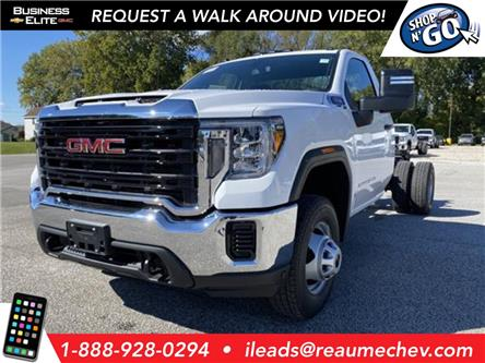 2020 GMC Sierra 3500HD Chassis Base (Stk: 20-0748) in LaSalle - Image 1 of 5