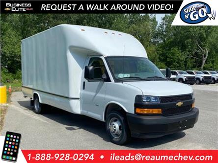 2020 Chevrolet Express Cutaway Work Van (Stk: 20-0288) in LaSalle - Image 1 of 27