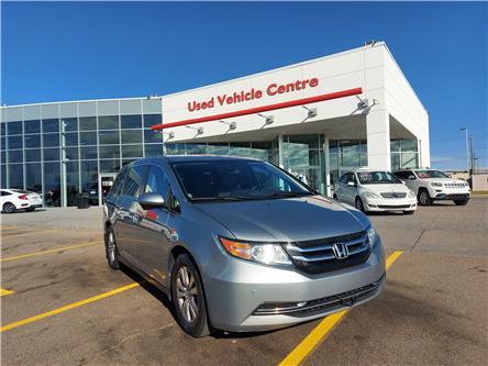 2016 Honda Odyssey EX-L (Stk: U204245) in Calgary - Image 1 of 51