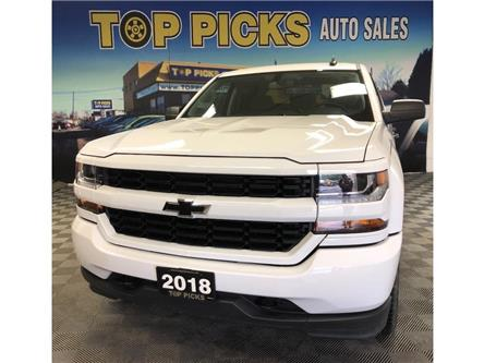 2018 Chevrolet Silverado 1500 Silverado Custom (Stk: 476862) in NORTH BAY - Image 1 of 26