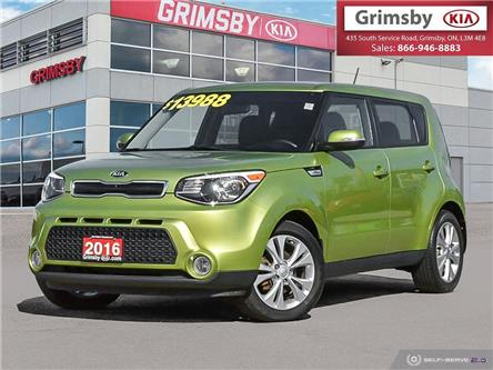 2016 Kia Soul EX GAS SAVER (Stk: U1855) in Stoney Creek - Image 1 of 25