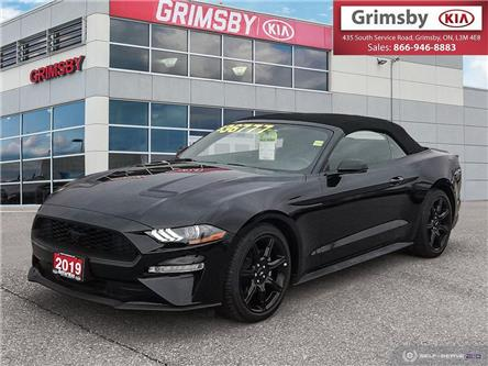 2019 Ford Mustang EcoBoost Premium Convertible (Stk: U1791) in Stoney Creek - Image 1 of 25