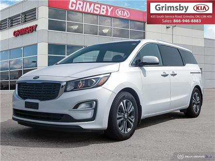 2019 Kia Sedona SX Sunroof, Power sliding doors, Heated steering (Stk: U1834) in Stoney Creek - Image 1 of 25