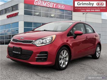 2017 Kia Rio 1 Owner 5dr HB Auto EX Special Edition (Stk: U1835) in Stoney Creek - Image 1 of 25