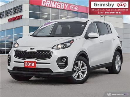 2019 Kia Sportage Apple car play, Back up camera, loaded (Stk: U1848) in Stoney Creek - Image 1 of 25