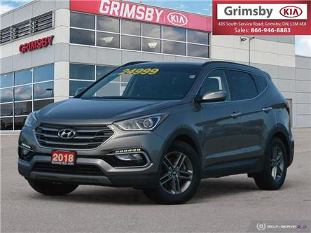 2018 Hyundai Santa Fe Sport 2.4L Luxury AWD (Stk: U1862) in Stoney Creek - Image 1 of 25