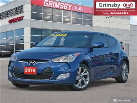 2016 Hyundai Veloster 3dr Cpe Auto SE (Stk: U1872) in Stoney Creek - Image 1 of 25