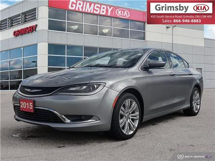 2015 Chrysler 200 Limited FWD 1 Owner (Stk: U1867) in Stoney Creek - Image 1 of 24