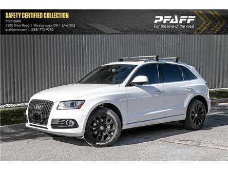 2017 Audi Q5 2.0T Progressiv (Stk: U5923A) in Mississauga - Image 1 of 21