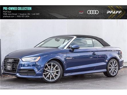 2015 Audi A3 2.0T Technik (Stk: T18504A) in Woodbridge - Image 1 of 21