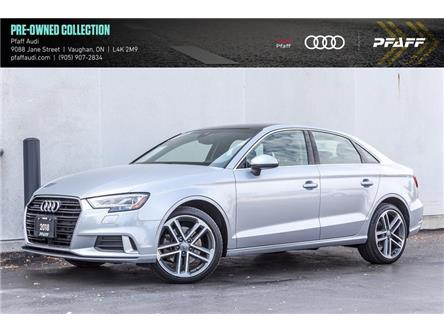 2018 Audi A3 2.0T Technik (Stk: T18613A) in Woodbridge - Image 1 of 21