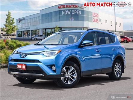 2018 Toyota RAV4 Hybrid  (Stk: U7358) in Barrie - Image 1 of 27