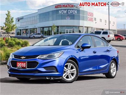 2016 Chevrolet Cruze LT Auto (Stk: U7820B) in Barrie - Image 1 of 26
