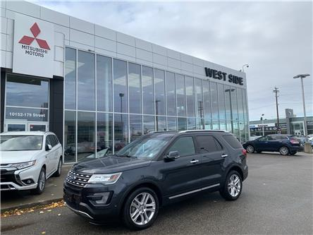 2017 Ford Explorer Limited (Stk: BM3929A) in Edmonton - Image 1 of 27