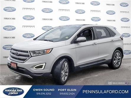 2018 Ford Edge Titanium (Stk: 2122) in Owen Sound - Image 1 of 24