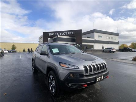 2016 Jeep Cherokee Trailhawk (Stk: 20522) in Sudbury - Image 1 of 25