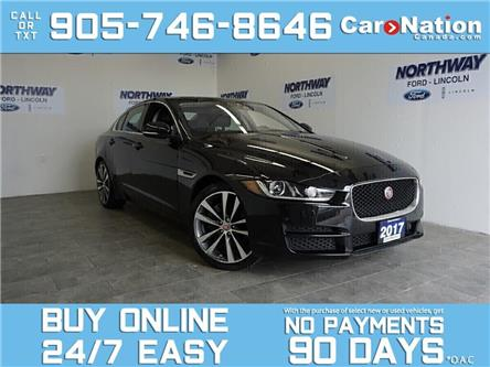 2017 Jaguar XE PRESTIGE | DIESEL | AWD | LEATHER | SUNROOF | NAV (Stk: P5530) in Brantford - Image 1 of 29