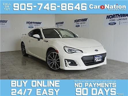 2017 Subaru BRZ SPORT TECH PKG | NAV | 6 SPEED MANUAL | SPOILER (Stk: P5583) in Brantford - Image 1 of 28