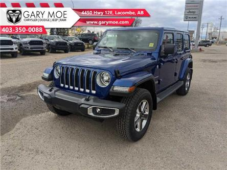 2020 Jeep Wrangler Unlimited Sahara (Stk: F202540) in Lacombe - Image 1 of 18