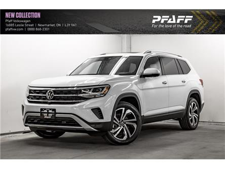 2021 Volkswagen Atlas 3.6 FSI Highline (Stk: V5442) in Newmarket - Image 1 of 21