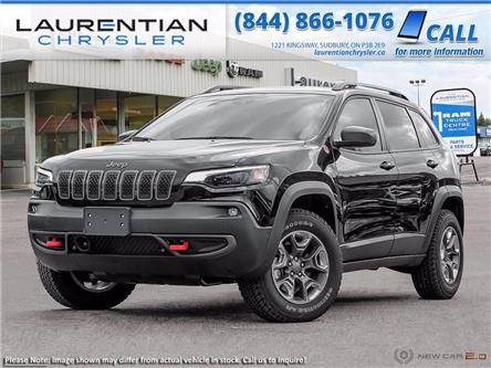 2021 Jeep Cherokee Trailhawk (Stk: 21006) in Sudbury - Image 1 of 23