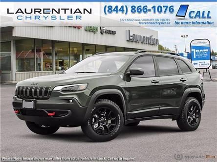 2021 Jeep Cherokee Trailhawk (Stk: 21007) in Sudbury - Image 1 of 23