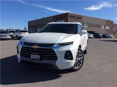 2021 Chevrolet Blazer Premier (Stk: 504591) in Carleton Place - Image 1 of 21