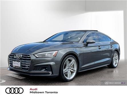 2018 Audi A5 2.0T Technik (Stk: P8345) in Toronto - Image 1 of 25