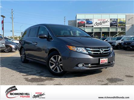 2017 Honda Odyssey Touring (Stk: 202895P) in Richmond Hill - Image 1 of 29