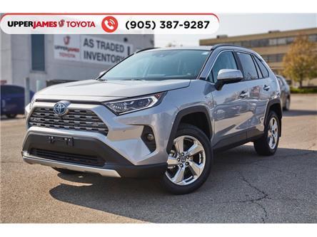 2021 Toyota RAV4 Hybrid Limited (Stk: 210036) in Hamilton - Image 1 of 21