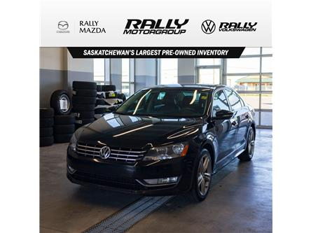 2012 Volkswagen Passat 2.0 TDI Highline (Stk: V1349) in Prince Albert - Image 1 of 13